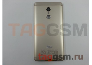 Задняя крышка для Xiaomi Redmi Note 4X (золото), ориг