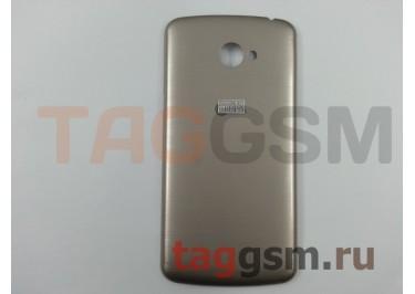 Задняя крышка для LG X220DS K5 (золото), ориг