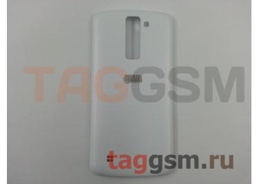 Задняя крышка для LG K350E K8 LTE (белый), ориг