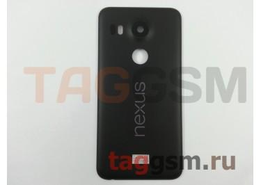 Задняя крышка для LG H791 Nexus 5X (черный), ориг