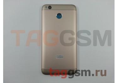 Задняя крышка для Xiaomi Redmi 4X (золото), ориг