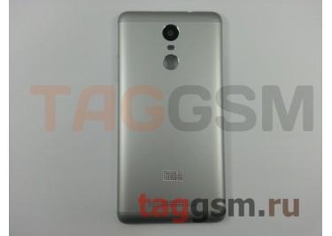 Задняя крышка для Xiaomi Redmi Note 3 (серебро), ориг