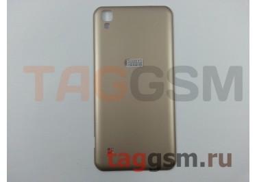 Задняя крышка для LG K200DS X Style (золото), ориг