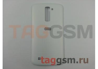 Задняя крышка для LG K410 / K430DS K10 (белый), ориг