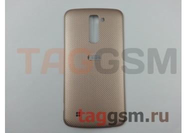 Задняя крышка для LG K410 / K430DS K10 (золото), ориг