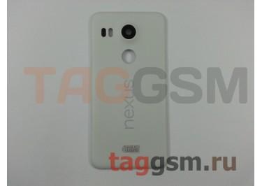 Задняя крышка для LG H791 Nexus 5X (белый), ориг