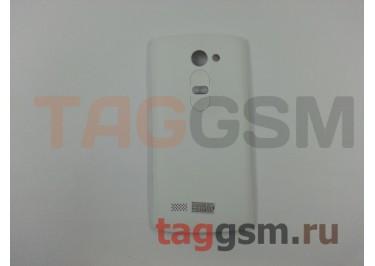 Задняя крышка для LG H324 Leon (белый), ориг
