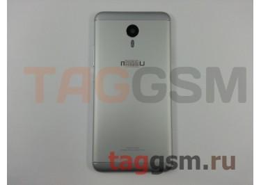 Задняя крышка для Meizu M3 Note (серебро), ориг