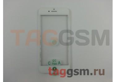 Стекло + OCA + рамка для iPhone 8 (белый), ориг