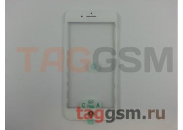 Стекло + OCA + рамка для iPhone 8 Plus (белый), ориг