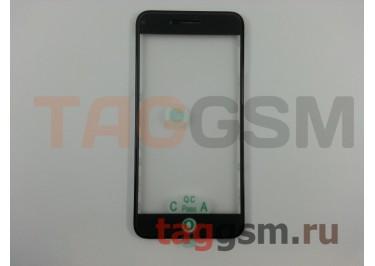 Стекло + OCA + рамка для iPhone 8 Plus (черный), ориг