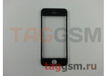 Стекло + OCA + рамка для iPhone 5 (черный), ориг