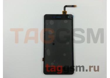 Дисплей для ZTE Blade L3 + тачскрин (черный)