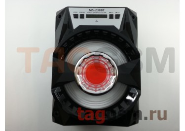 Колонка (MS-238BTch) (Bluetooth+USB+MicroSD+FM+LED+дисплей) (черная)