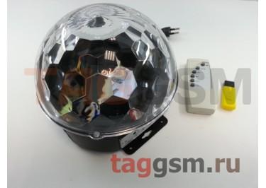Колонка (Bluetooth+LED+светомузыка)