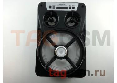 Колонка (MS-167BTch) (Bluetooth+USB+MicroSD+FM+LED+дисплей) (черная)