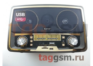 Колонка (MD-1701BTch) (Bluetooth+USB+SD+MicroSD+FM) (черная)