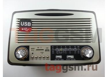Колонка (MD-1700BTch) (Bluetooth+USB+SD+MicroSD+FM) (черная)