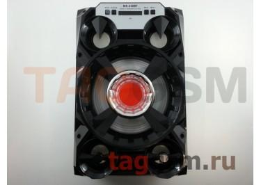 Колонка (MS-250BTch) (Bluetooth+USB+MicroSD+FM+LED+дисплей) (черная)