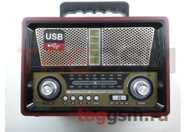 Колонка (MD-1802BTch) (Bluetooth+USB+SD+MicroSD+FM) (черная)