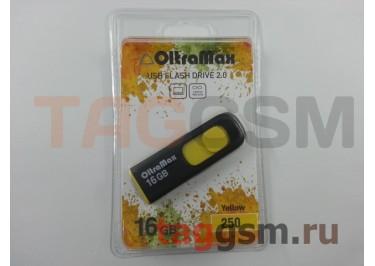 Флеш-накопитель 16Gb OltraMax 250 Yellow