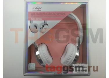Беспроводные наушники (полноразмерные Bluetooth) (белый) Koniycoj KB-3800