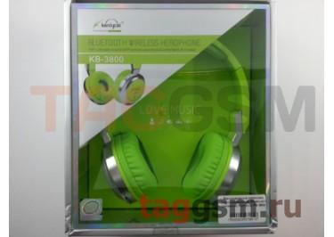 Беспроводные наушники (полноразмерные Bluetooth) (зеленый) Koniycoj KB-3800