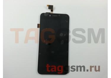 Дисплей для ZTE Blade L4 + тачскрин (черный)