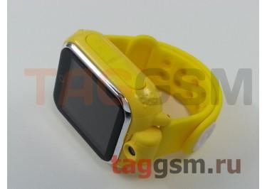 GPS - детские часы SmartBabyWatch G10 (Желтые)
