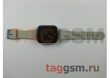 GPS - детские часы SmartBabyWatch T100 (Серебрянные)