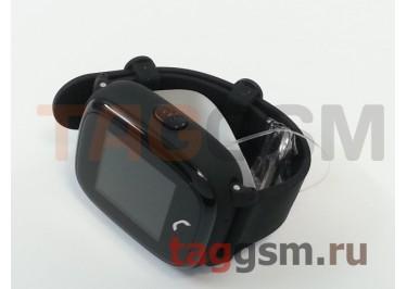 GPS - детские часы SmartBabyWatch W9 (Черные)