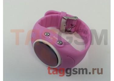 GPS - детские часы SmartBabyWatch W8 (Розовые)