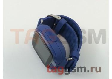 GPS - детские часы SmartBabyWatch Q80 (Темно-Синие)