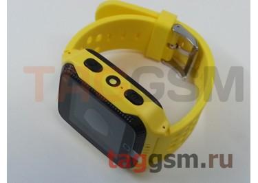GPS - детские часы SmartBabyWatch G100 (Желтые)
