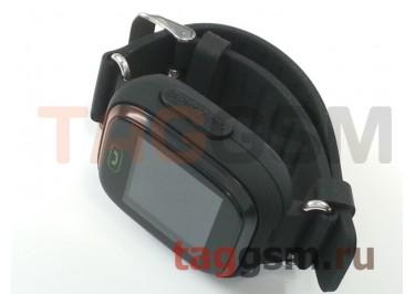 GPS - детские часы SmartBabyWatch Q80 (Черные)