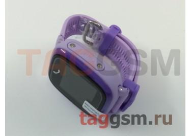 GPS - детские часы SmartBabyWatch W9 (Фиолетовые)