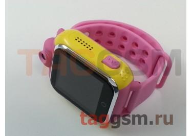 GPS - детские часы SmartBabyWatch G10 (Розовые)