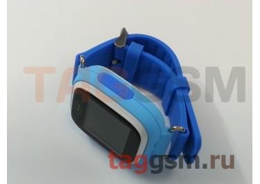 GPS - детские часы SmartBabyWatch Q80 (Голубые)