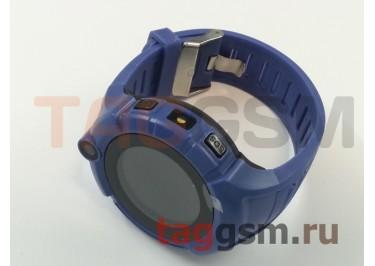 GPS - детские часы SmartBabyWatch i8 (Темно-Синие)