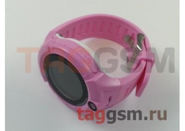 GPS - детские часы SmartBabyWatch i8 (Розовые)