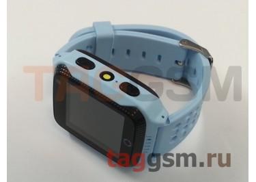 GPS - детские часы SmartBabyWatch G100 (Голубые)