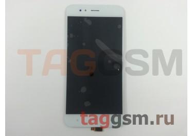 Дисплей для Xiaomi Mi5X / Mi A1 + тачскрин (белый)