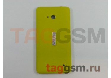 Задняя крышка для Microsoft 640 Lumia (желтый)