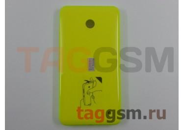 Задняя крышка для Nokia 635 Lumia (желтый)