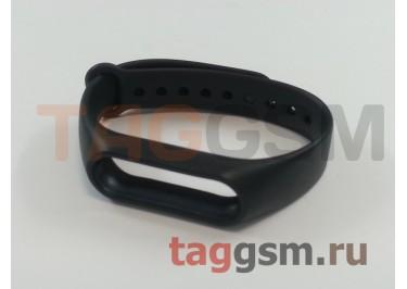 Браслет для Xiaomi Mi Band 2 (Strap AA) (черный)