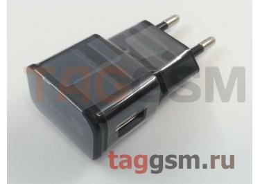 Сетевое зарядное устройство USB 1000mAh черный (блистер) Eltronic Premium