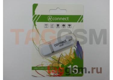 Флеш-накопитель 16Gb Connect P205 White