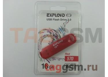 Флеш-накопитель 16Gb Exployd 570 Red