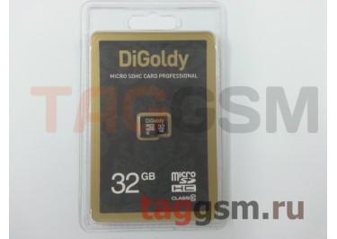 Micro SD 32Gb DiGoldy Class 10 без адаптера SD