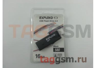 Флеш-накопитель 16Gb Exployd 580 Black